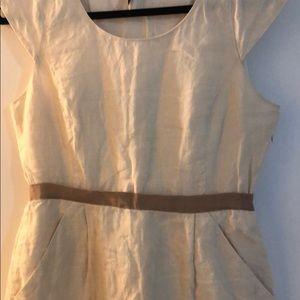 K crew linen dress